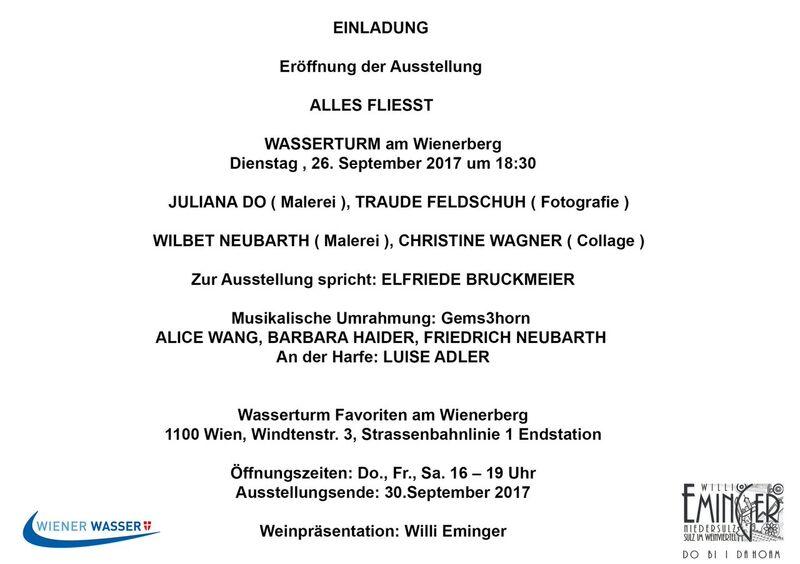 """Details zur Ausstellung """"Alles fliesst"""""""